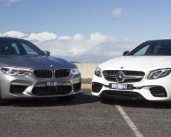 AMG E63 S, vs BMW M5 Competition Drag Yarışı